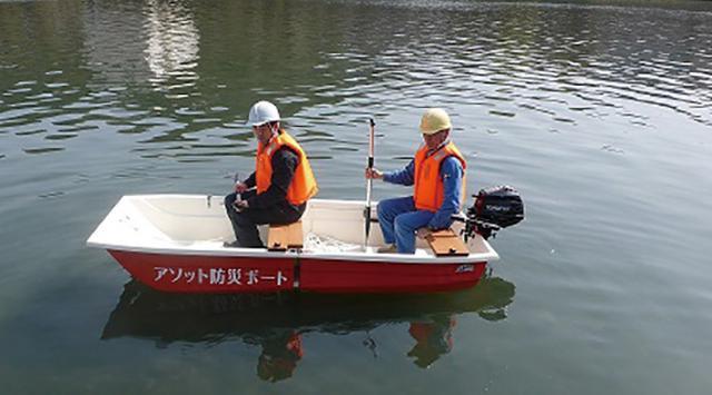 画像: 2馬力以下の船外機を取り付けることもできます。船舶検査・船舶免許も不要です。