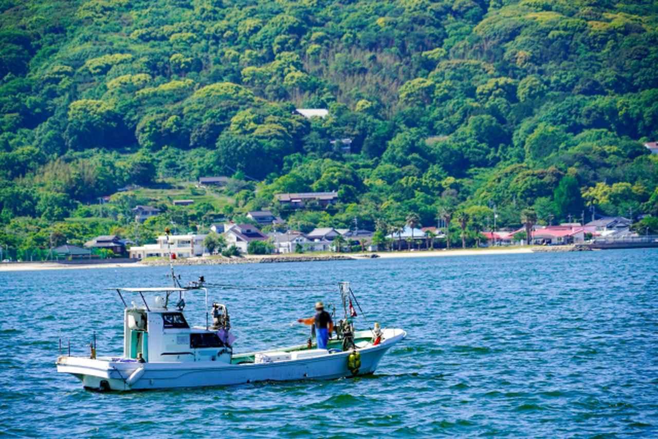 画像: 釣りの魅力は魚だけじゃない!海から見える景色も醍醐味