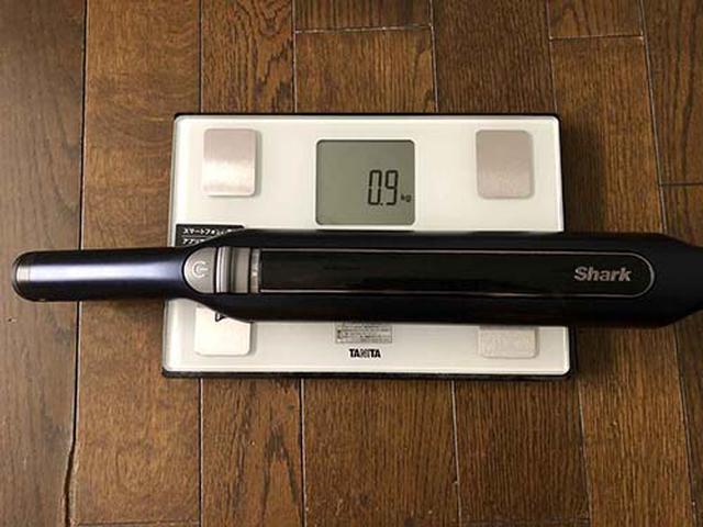 画像: ハンディ部分は約0.9kg