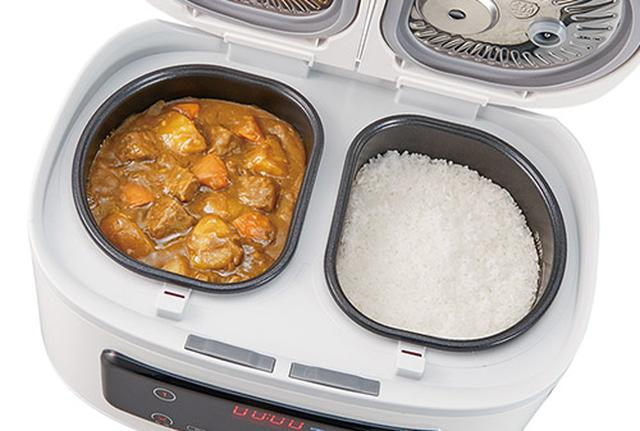 画像: カレーとご飯を一度に作れる!