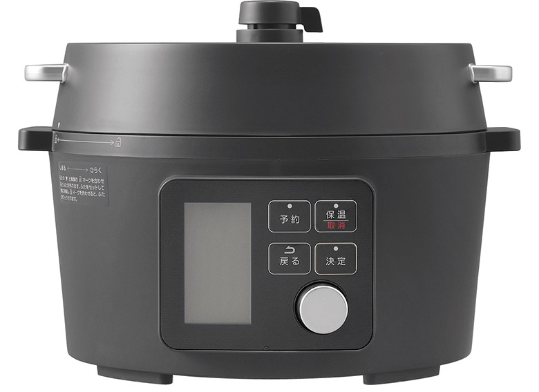 画像: 80種類のワンタッチメニューを搭載。家族で便利な大型内鍋