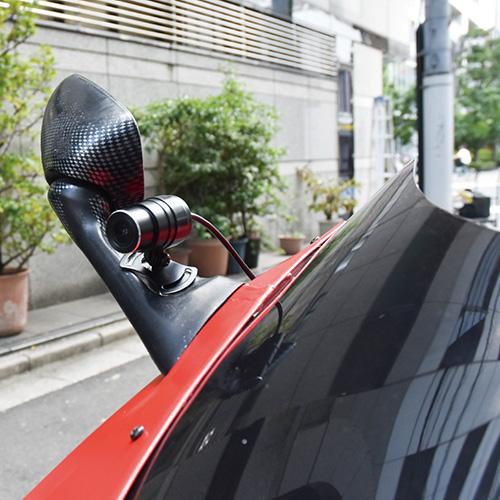 画像2: サンコー 衝撃感知&完全防水! バイク用前後ドライブレコーダー