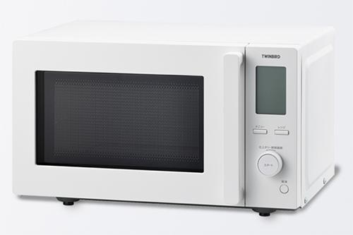 画像: 「センサー付フラット電子レンジ DR-F281W」 www.twinbird.jp
