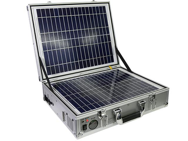 画像: 「発電バリバリくん」 ●バッテリー容量/9万mAh●バッテリータイプ/リチウムイオン●サイズ/幅442㎜×高さ336㎜×奥行き125㎜●重量/9.2㎏