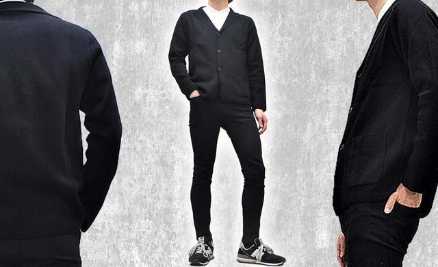画像1: 【無印良品】秋冬コーデに即投入「ウール混ダブルフェイスジャケット」購入レビュー! カーディガン気分で羽織れて便利