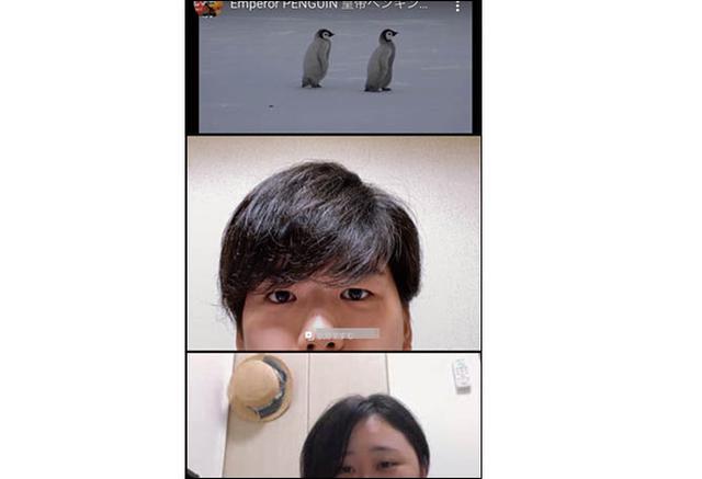 画像3: ●通話中にYouTube動画を見られる