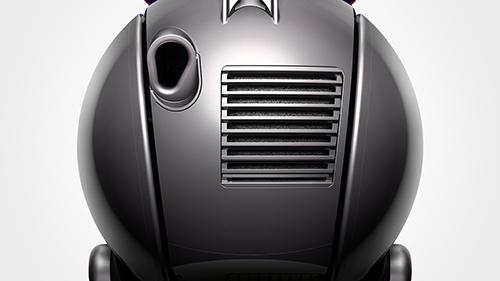 画像: 部屋の空気よりもきれいな空気を排出する交換不要のフィルター。プレモーターフィルターは水洗い可能で、ポストモーターフィルターはお手入れ不要です。ダイソンBall™掃除機は0.5ミクロンまでの微細な粒子を捕らえ続け、きれいな空気を排出するので、アレルギーに悩むかたにも最適です。 www.dyson.co.jp