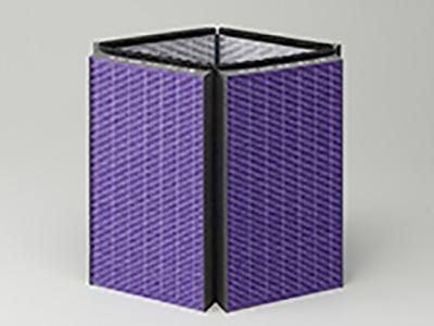 画像: 4面が一体となった「大面積マルチフィルター」 www.zojirushi.co.jp