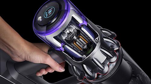 画像: ダイソン デジタルモーター V11。Dyson Cyclone V10™コードレスクリーナーに比べて、吸引力が25%アップ。 www.dyson.co.jp