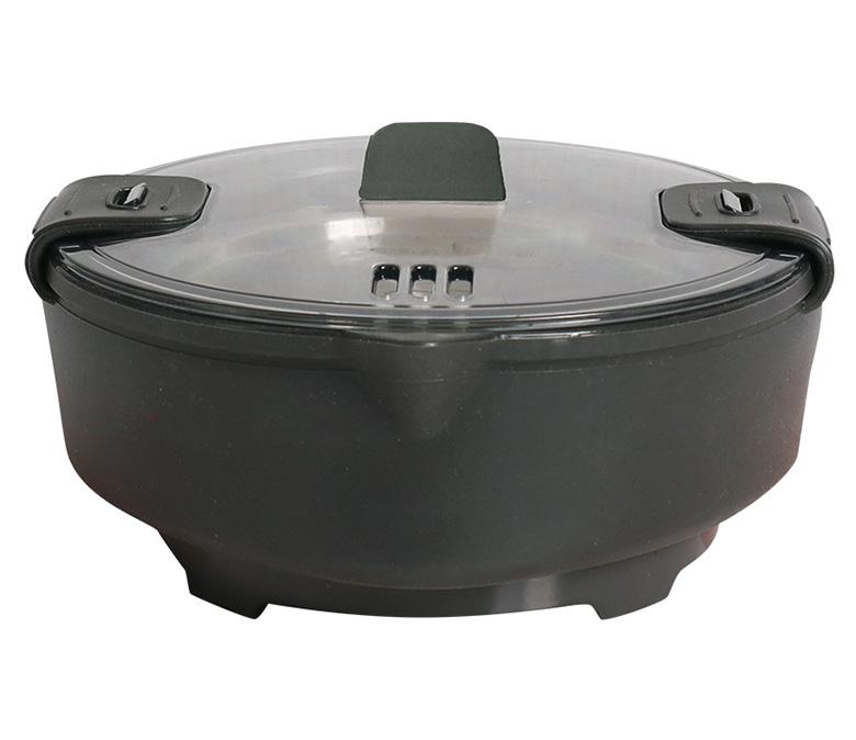 画像1: 使うときだけ伸ばして手軽に一人鍋が楽しめる