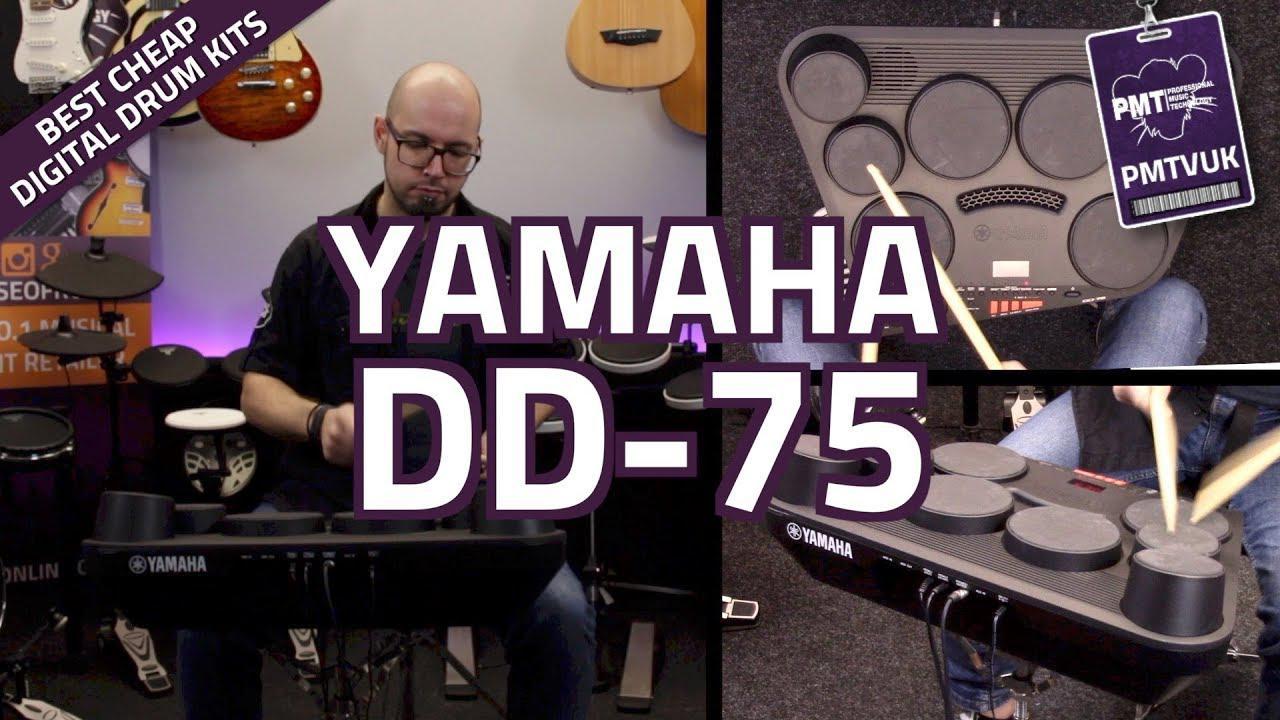 画像: Yamaha DD-75 Desk Top Electronic Drum Kit - Overview & Demo youtu.be
