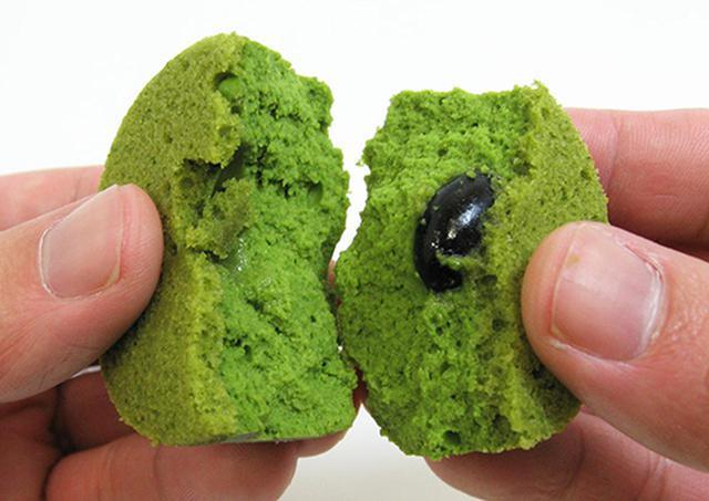 画像: 濃厚な抹茶チーズケーキの中には、大粒の丹波黒豆が!優しい甘さが抹茶に合います shop.senkien.jp