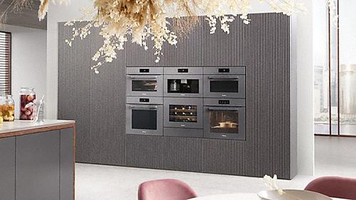 画像: 写真の中、ワインクーラーは日本発売、未決定です。 www.miele.co.jp