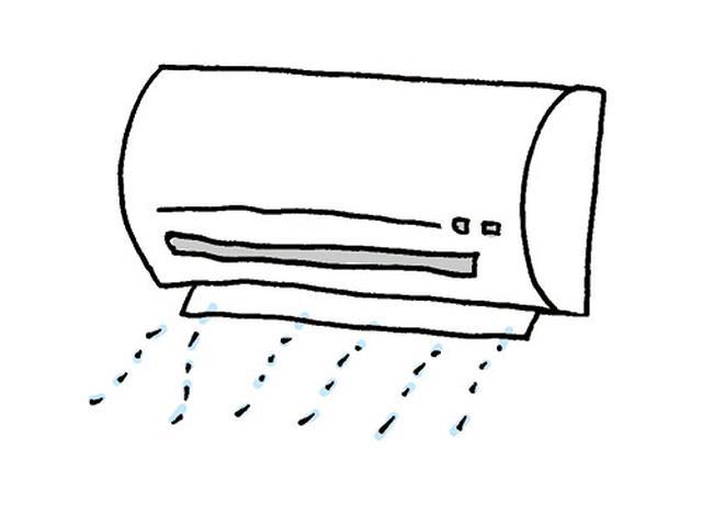 画像: 乾かしたフィルターを装着したら、20〜30分の送風運転を。 イラスト/すぎうらゆう