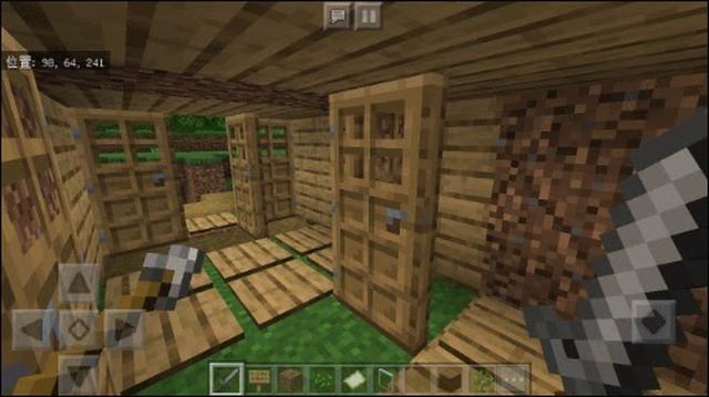 画像: 息子の作ったやたらドアの多い家