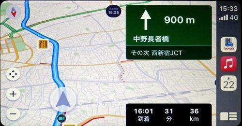 画像: フォルシアクラリオンのディスプレイオーディオ「TY-1000A-B」は、ジャイロや車速パルスを併用できる機能を装備。首都高速中央環状線 山手トンネル内でも測位を継続できる