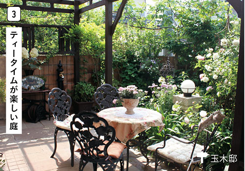 画像3: 使う? 楽しむ?日々の暮らしを素敵に彩る庭