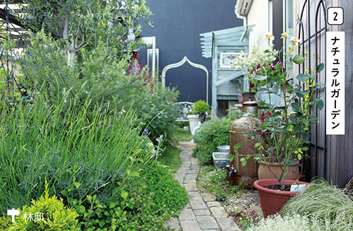 画像2: 暮らしを豊かにする空間をつくる メインの庭②