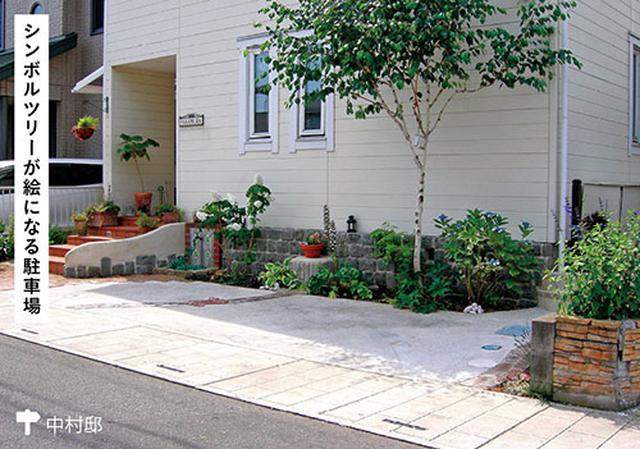 画像3: すき間やデッドスペースに緑をあしらう 植栽演出で駐車場が素敵な庭空間に!