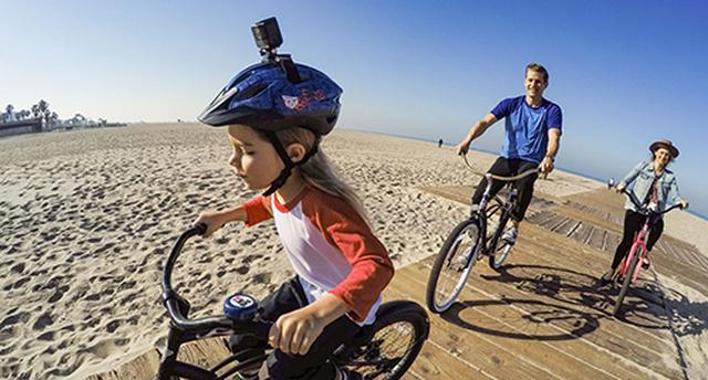 画像: 通気ヘルメット ストラップ マウント
