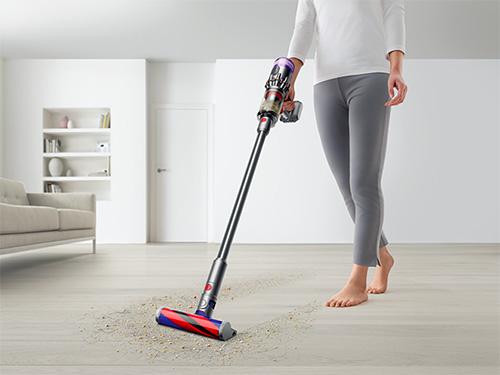 画像2: 1.5キロと超軽量ながら、高い吸引力ときれいな排気で快適に掃除!