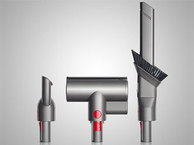 画像: 左から卓上ツール、ミニモーターヘッド、コンビネーション隙間ノズル