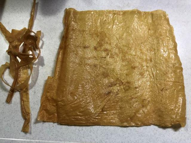 画像: ギザギザの端っこは細かくカットして味噌汁やスープに