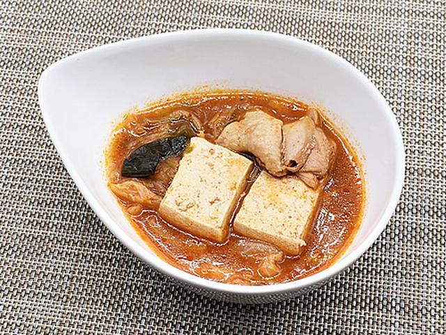 画像1: スープの染み込んだ木綿豆腐が食べごたえ満点!