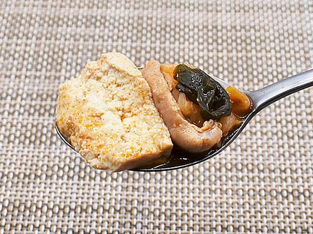 画像3: スープの染み込んだ木綿豆腐が食べごたえ満点!