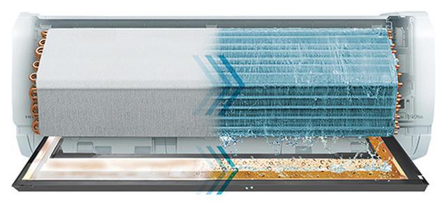 画像: ※排水トレー凍結洗浄イメージ