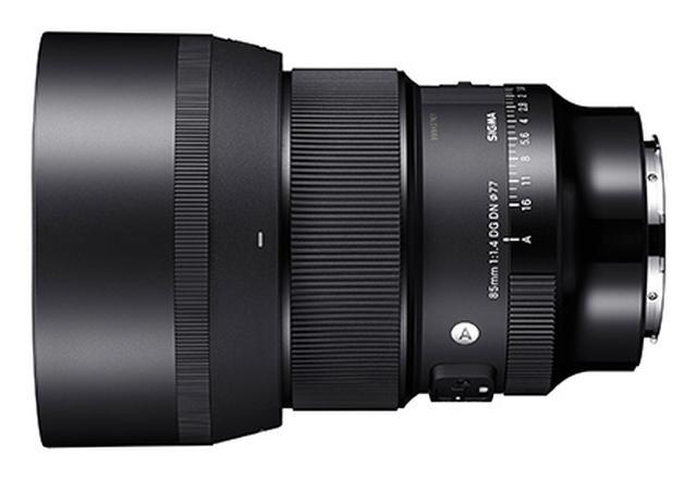 画像: 高画質、高性能タイプの85mmF1.4としては、かなりコンパクトなSIGMA 85mm F1.4 DG HSM | Art。ただし、普通の感覚ではさほど小さくはありません。