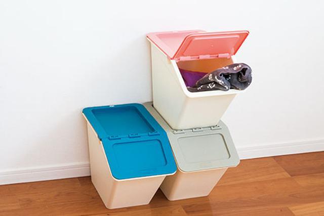 画像: オープンボックスは中身が見えずスッキリ