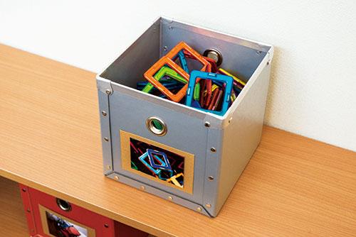 画像1: 細かいおもちゃは入れ物自体も小さくする
