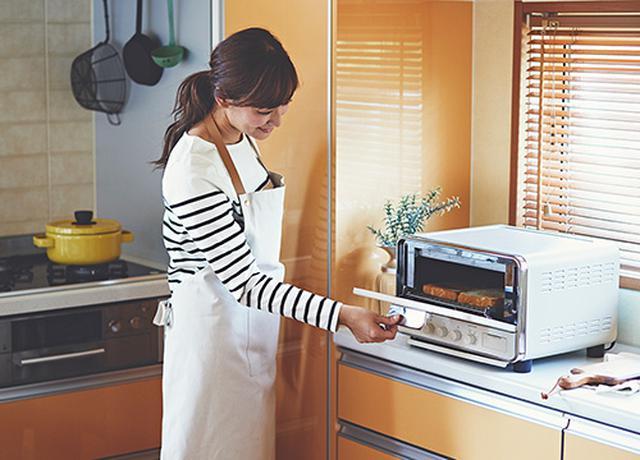 画像2: ドウシシャ Kamome Steam Convection Oven Toaster K-CT1