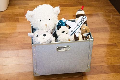 画像1: 大きいおもちゃは大きな箱にざっくり収納