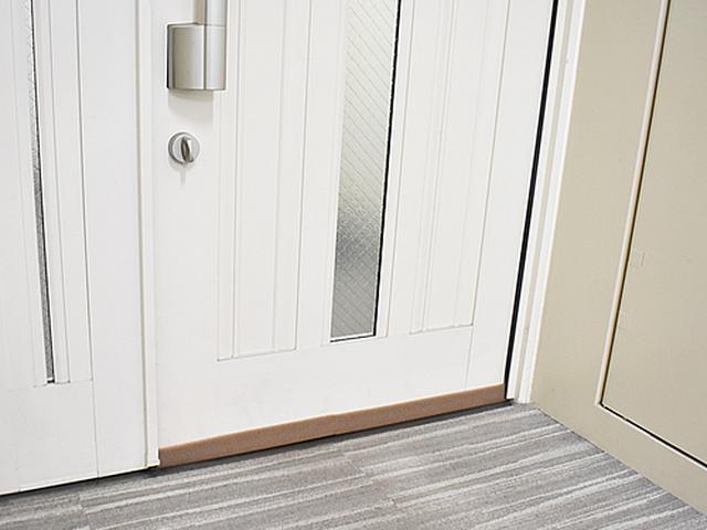 画像: どんなデザインのドアにもマッチするデザイン