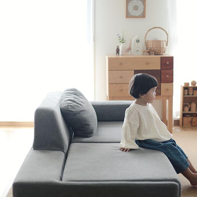 画像: 変わらぬ使い心地 ロータイプのソファー