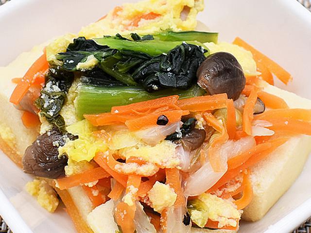 画像2: だしの染み込んだ高野豆腐の深い味わいを堪能!