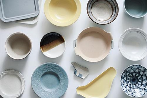 画像: お気に入りの食器たち