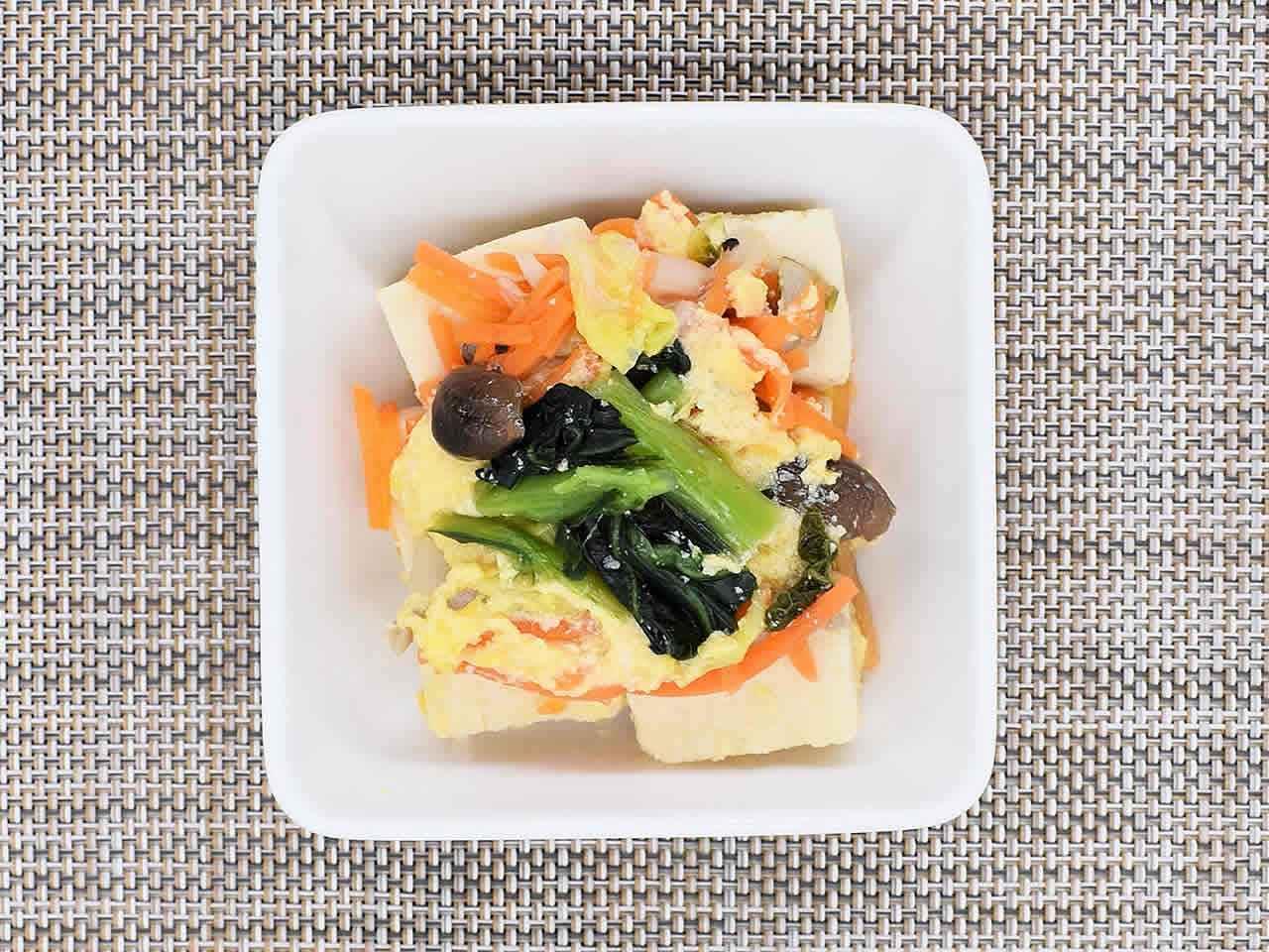 画像: ジューシーで濃厚な味わいがたまらない!「高野豆腐煮」