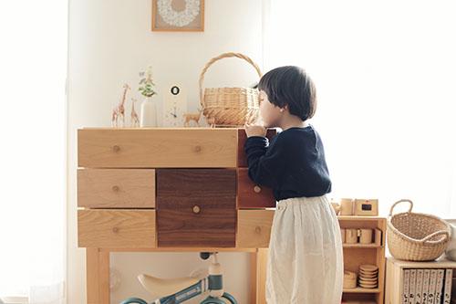 画像: 子ども触ってOK! お気に入りの家具