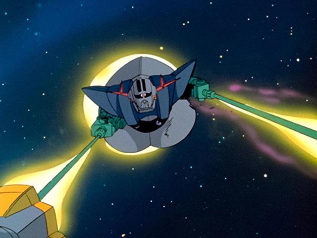 画像: 宇宙空間の微妙な濃淡も豊かに再現されている。戦闘の迫力もさらに増している。 (C)創通・サンライズ