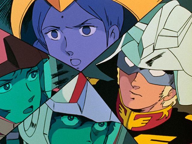 画像: 宇宙で対峙する4人。それぞれの迫真の演技が実に生々しく再現されている。 (C)創通・サンライズ