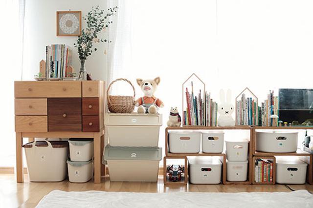 画像: 子どもが自分でお片付けできる分かりやすいおもちゃ収納