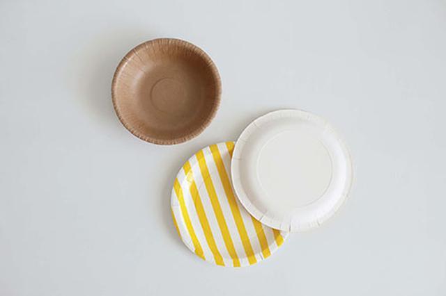 画像1: 紙皿を使って工作