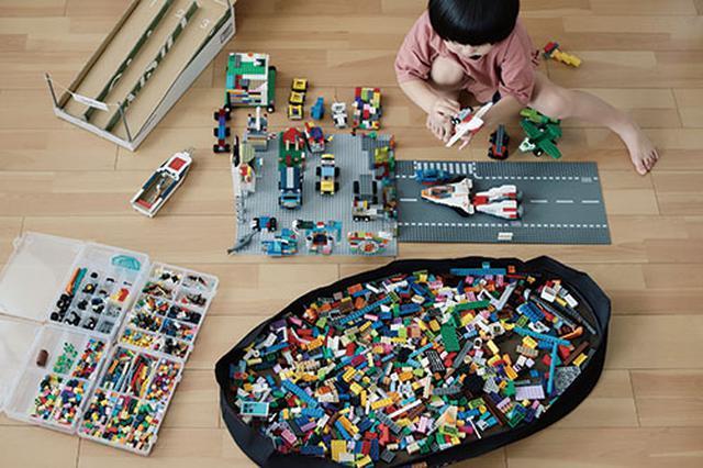 画像: ブロックの収納