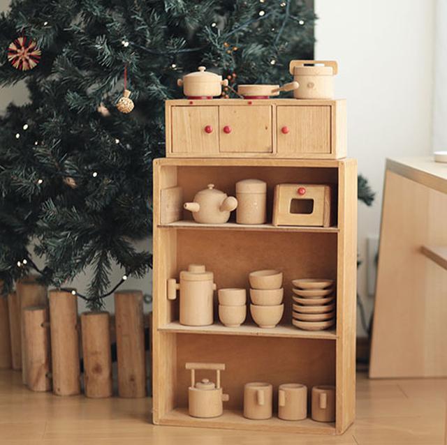 画像: 木のおもちゃの収納