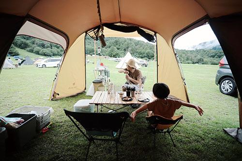 画像: ファミリーキャンプで家族の絆を深める