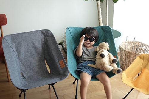 画像: おうちでも使えるHelinoxの「Chair Home コンフォートチェア」。