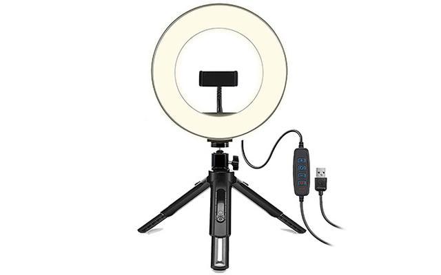 画像: 高輝度LED電球を採用し、3色の照明モード機能(白、黄、暖)がある。3200Kから5500Kまでの10段階の調光が可能。